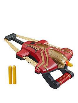 Spiderman Marvel Spider-Man Web Bolt Nerf Blaster Toy For Children, Film-Inspired Design, Includes 3 Elite Nerf Darts, Ages 5 And Up