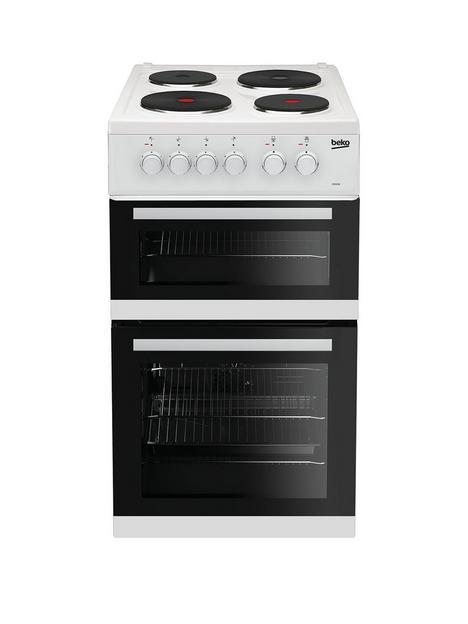 beko-kd533aw-twin-cavity-electric-cooker-white