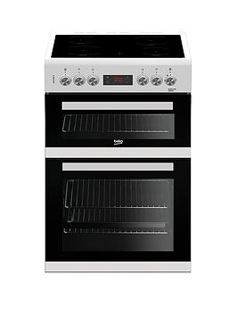 beko-kdc653w-60cm-double-oven-electric-cooker-white