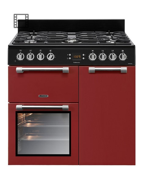 leisure-ck90f232r-90cm-cookmaster-dual-fuel-range-cooker-red