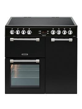 Leisure Ck90C230K 90Cm Cookmaster Electric Range Cooker, Black
