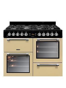Leisure Ck100G232C 100Cm Cookmaster Gas Range Cooker, Cream