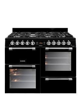 Leisure Ck100F232K 100Cm Cookmaster Dual Fuel Range Cooker, Black