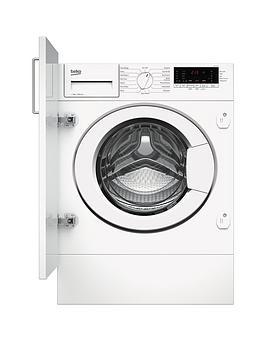 Beko Wtik74111 7Kg 1400Rpm Integrated Recycledtub Washing Machine - Washing Machine Only