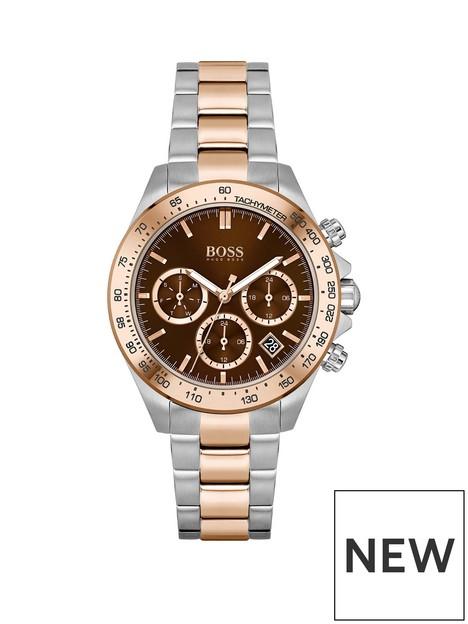 boss-boss-novia-brown-chronograph-dial-stainless-steel-rose-tone-bracelet-watch