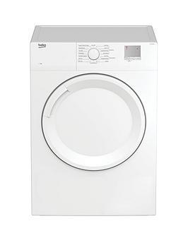 Beko Dtgv7000W 7Kg Vented Tumble Dryer, White