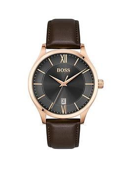boss-boss-elite-grey-date-dial-brown-leather-strap-watch