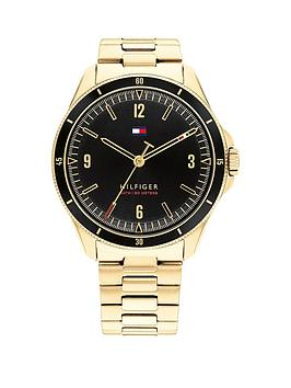 tommy-hilfiger-tommy-hilfiger-maverick-black-dial-gold-tone-bracelet-watch