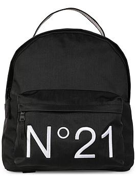 no-21-embroiderednbsplogo-backpack-black