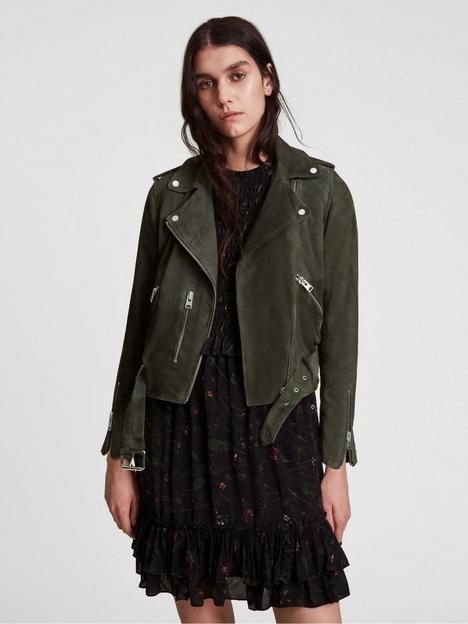 allsaints-suede-balfern-biker-jacket-green