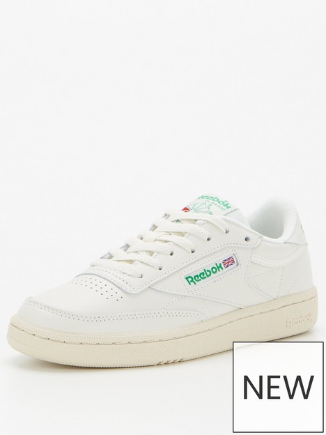 reebok-club-c-85-trainers-whitegreen