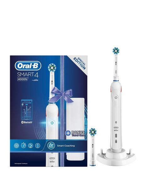 oral-b-oral-b-smart-4-4000n-rechargeable-electric-toothbrush-white-powered-by-braun-bonus-travel-case