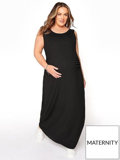 yours-maternity-scoop-neck-maxi-dress