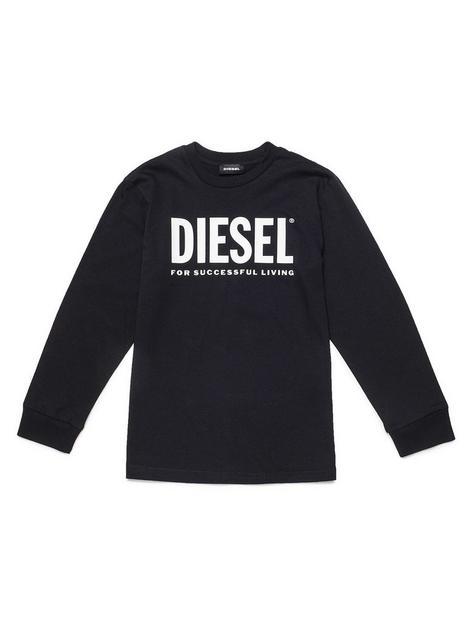 diesel-boys-logo-long-sleeve-t-shirt-black
