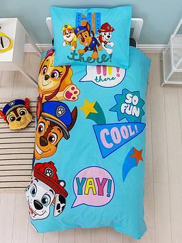 Paw Patrol IM Cool Duvet Cover And Pillowcase Set - Toddler