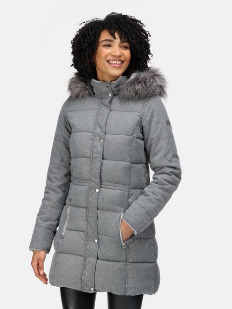 regatta-della-quilted-jacket-light-grey