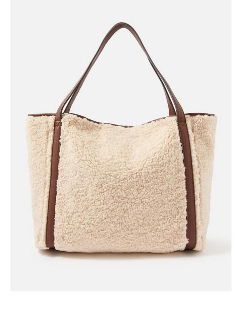 accessorize-faux-shearling-slouch-bag