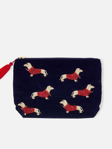 accessorize-accessorize-sausage-dog-large-make-up-bag