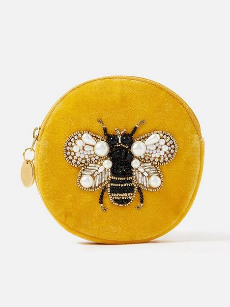 accessorize-bee-embellished-coin-purse