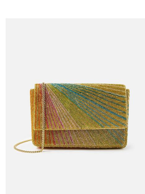 accessorize-rainbow-embellished-clutch