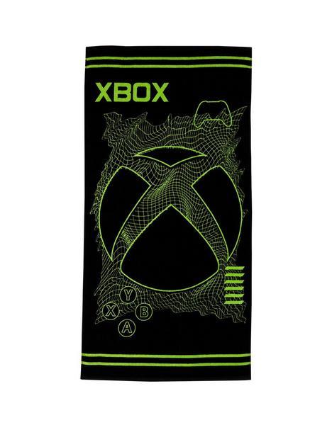 xbox-x-box-grid-towel