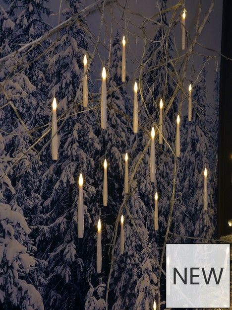 noma-10-white-remote-controlled-magic-candles-with-wand