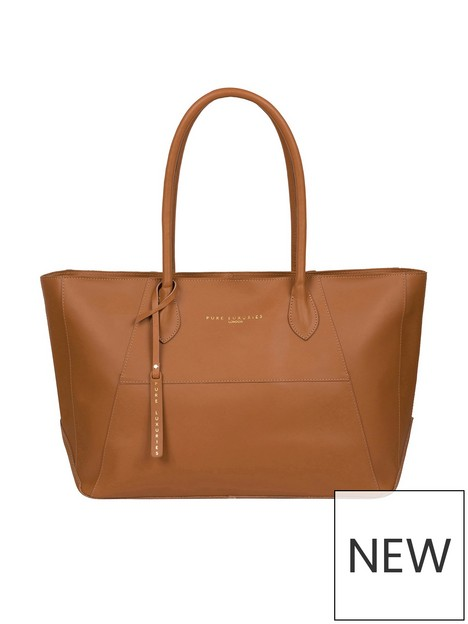 pure-luxuries-london-storrington-large-zip-top-leather-tote-bag-tan