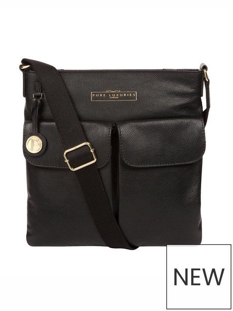 pure-luxuries-london-soames-zip-top-leather-crossbody-bag-black