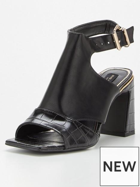 river-island-wide-fit-cut-out-square-toe-shoe-black