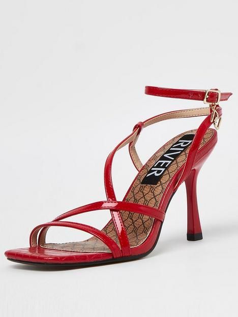 river-island-barley-there-sandal-red