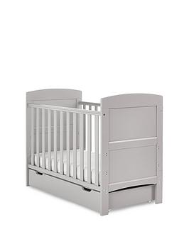 Obaby Grace Mini Cot Bed + Under Drawer
