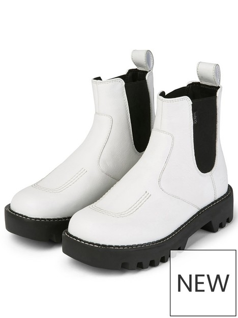 kickers-kizziie-chelz-leather-chelsea-ankle-boot-white