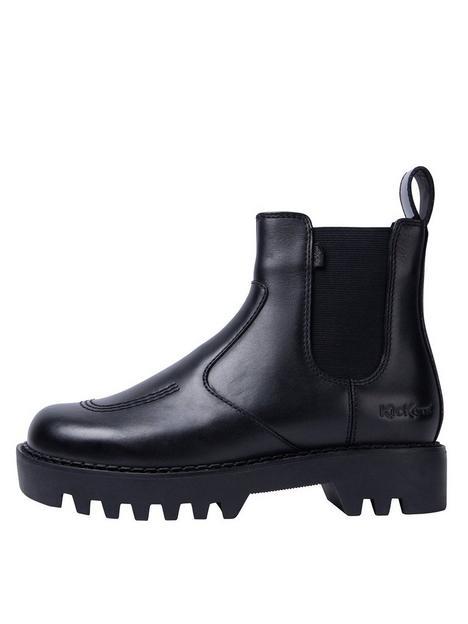 kickers-kizziie-chelz-leather-chelsea-ankle-boot-black