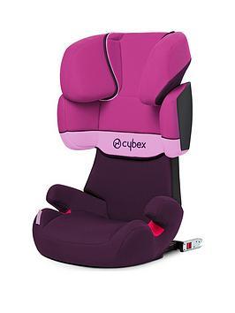 Cybex Solution X-Fix Car Seat - Purple Rain