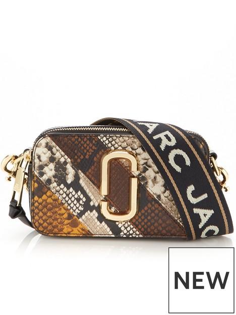 marc-jacobs-snapshot-snake-print-cross-body-bag-brown-multi