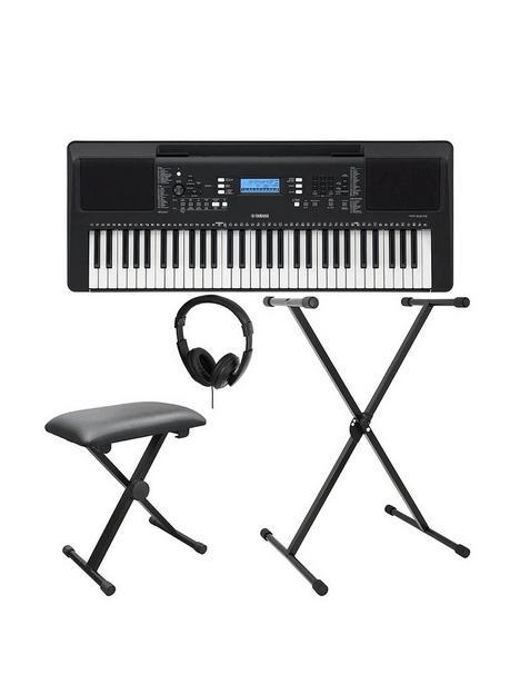 yamaha-psre373-keyboard-pack