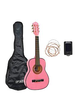 3rd-avenue-3rd-avenue-12-size-classical-guitar-pack-pink