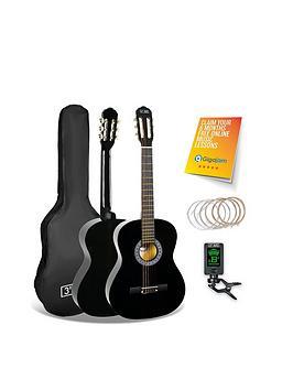 3rd-avenue-3rd-avenue-34-size-classical-guitar-pack-black