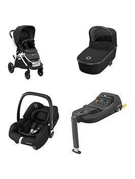 maxi-cosi-adorra2-travel-system-adorra-pushchairoria-carrycottinca-car-seat-tinca-car-seat-base-essential-black