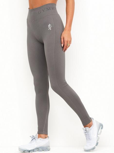 gym-king-sport-seamless-rib-legging-grey