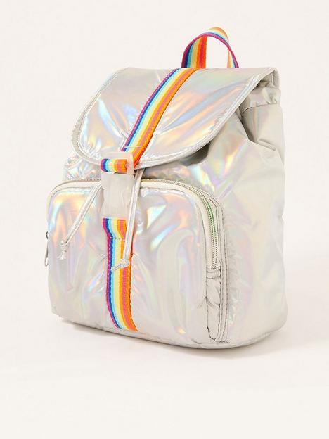 monsoon-girls-intergalactic-rainbow-backpack-silver