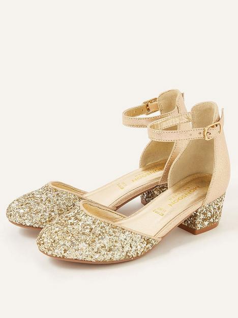 monsoon-girls-mixed-glitter-2-part-heel-shoes-gold