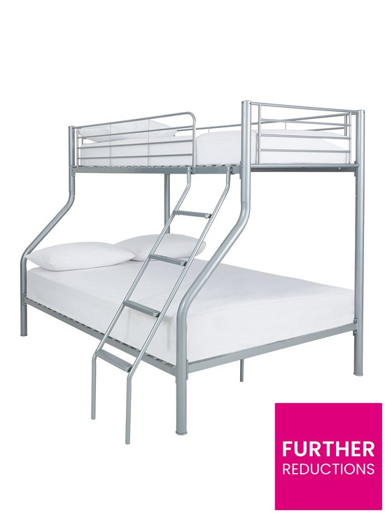 Kidspace Domino Trio Bunk Bed With Optional Mattress Very Co Uk