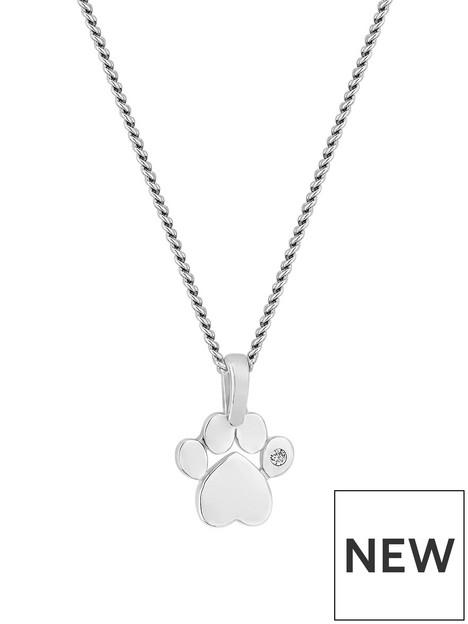 simply-silver-cz-paw-print-pendant
