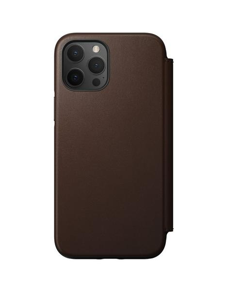 nomad-rugged-folio-rustic-brown-leather-magsafe-iphone-12-pro-max