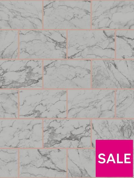 crown-metro-brick-charcoal-wallpaper