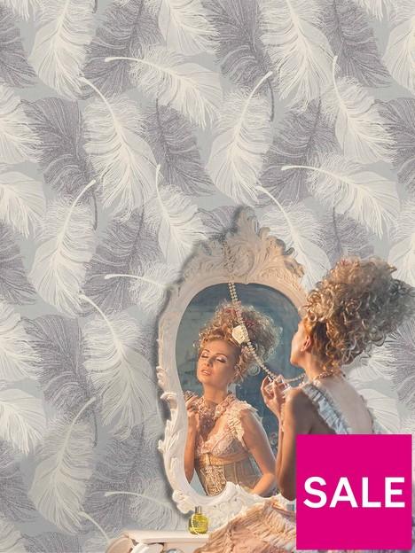 coloroll-coloroll-feathers-dappled-grey-glitter-wallpaper