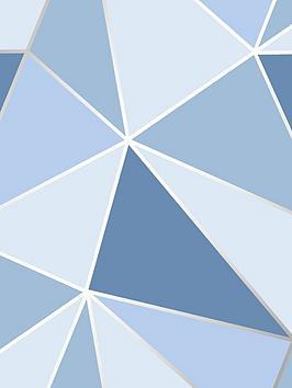 fine-dcor-fine-decor-apex-geometric-blue-wallpaper