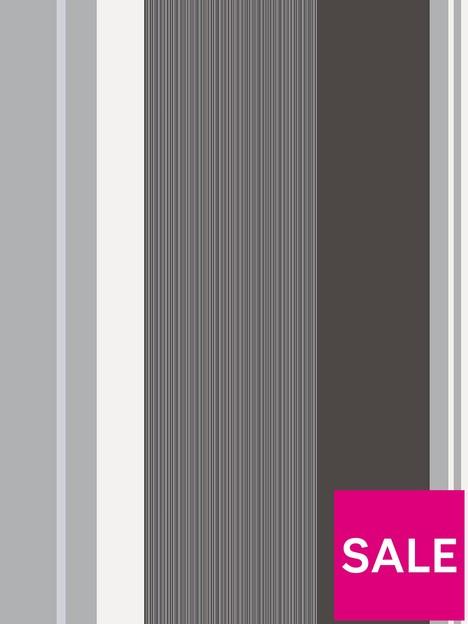 crown-crown-millie-charcoal-black-silver-white-stripe-wallpaper
