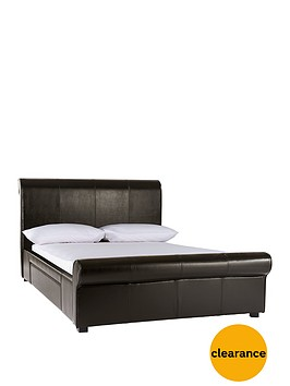 madrid-faux-leather-storage-bed-frame-with-optional-mattress